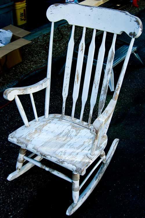 Scary Rocking Chair ~ Scarefx rockin granny building a wiper motor rocker
